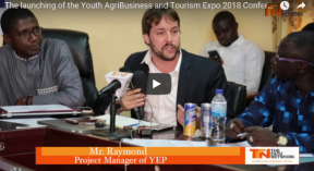 The launching of the Youth AgriBusiness and Tourism Expo 2018 Conference - COVER IMAGE