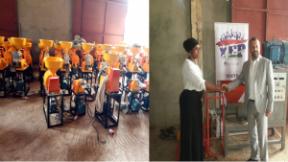 YEP presents D26 million agro processing machines to 14 enterprises - COVER IMAGE