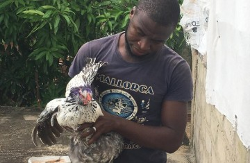 """I know that I can be bigger and better developing my poultry here than if I were in Germany or some other country. I am contributing to The Gambia, my homeland."""