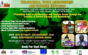 First National Youth Agribusiness, Tourism Expo ends - COVER IMAGE