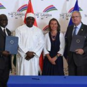 Display a PDF version of this page.Share A comprehensive overview of the new chapter of The Gambia-EU Cooperation - COVER IMAGE