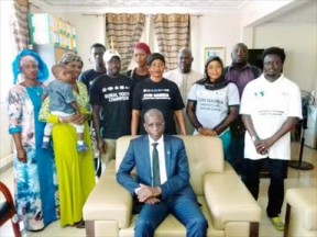 ITA DG receives GYIN Gambia delegation - COVER IMAGE