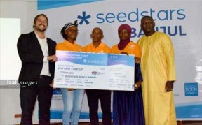 Seedstars Banjul Awards Nadji.Bi Gambia The Title Of Best Startup In The Gambia - COVER IMAGE