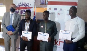GAMBIA COVID-19: EU DISBURSES D1MILLION TO 'TEKKI FII' INNOVATIVE LOCAL BUSINESS CHALLENGE - COVER IMAGE